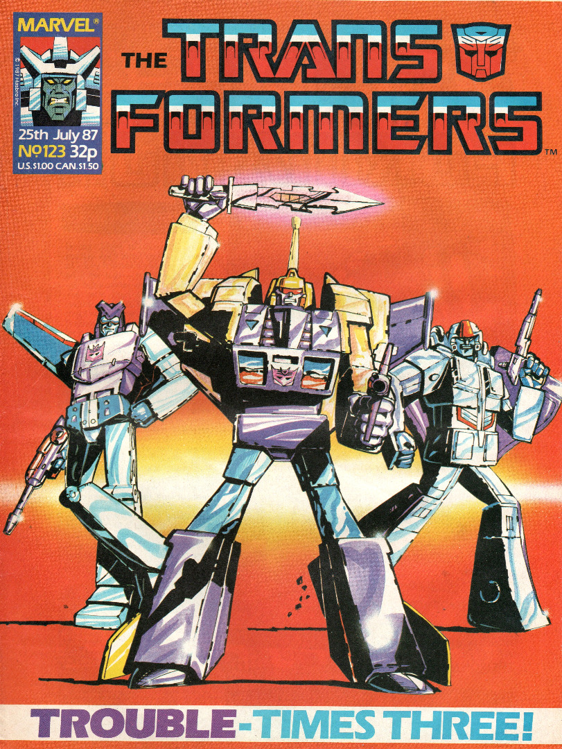 The Transformers Comic Generation G1 July