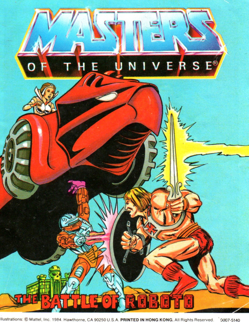 The Battle of Roboto - Mini Comic - Masters of the Universe / He-Man - 1