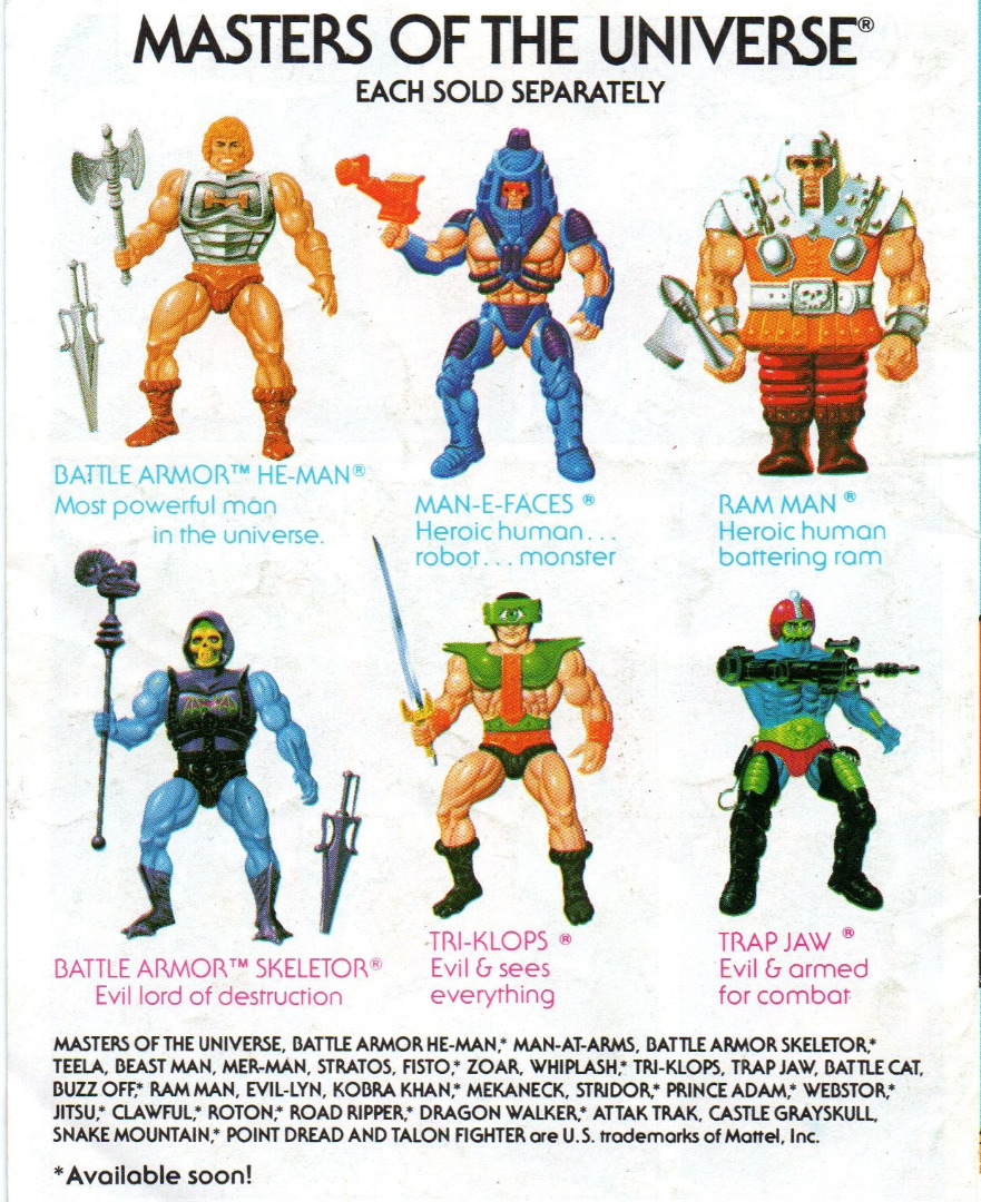 The Battle of Roboto - Mini Comic - Masters of the Universe / He-Man - 2