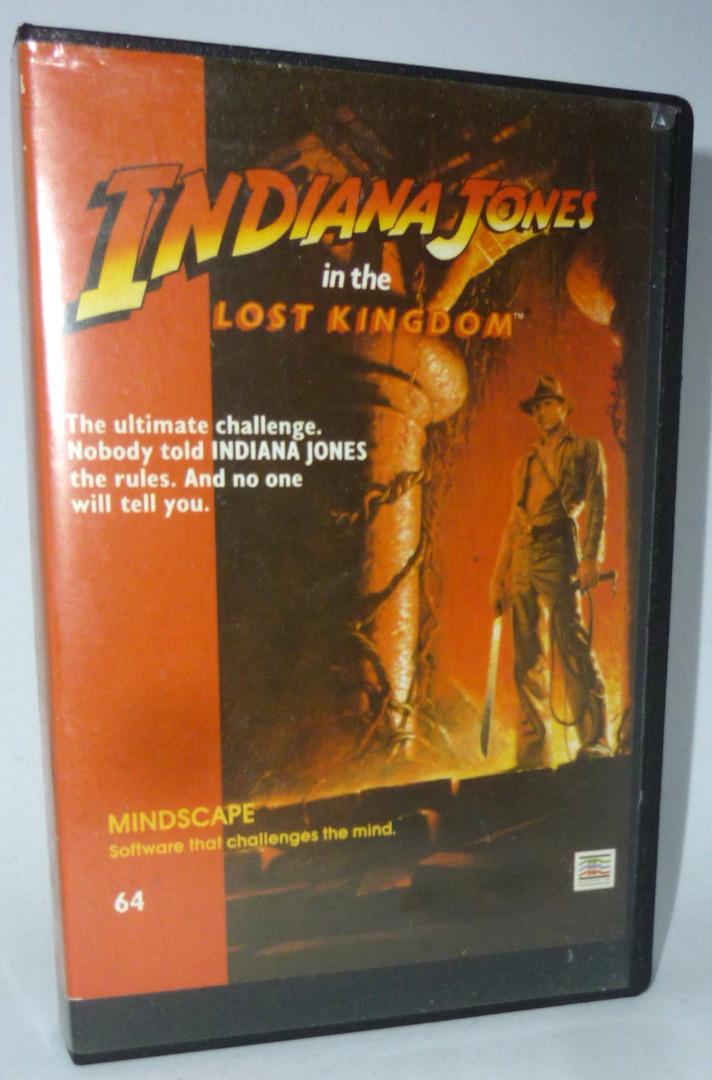 Indiana Johnes in the lost kingdom - C64 / Commodore 64 - 1