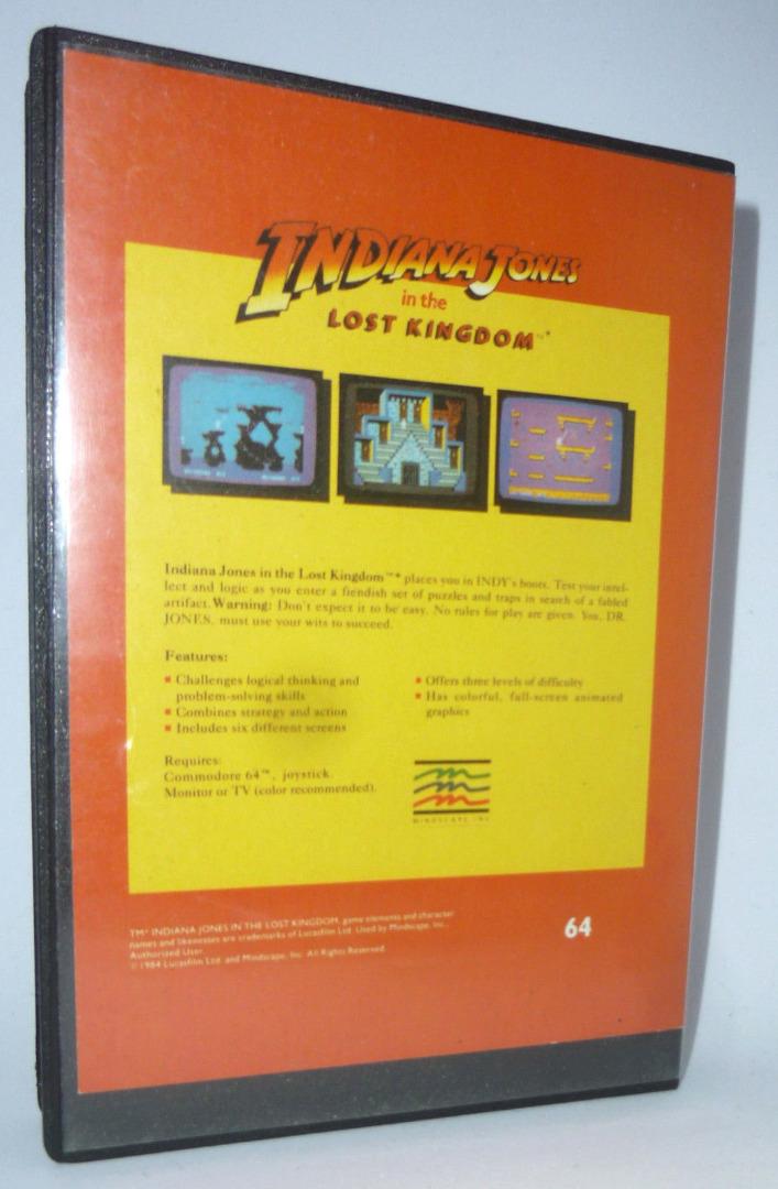 Indiana Johnes in the lost kingdom - C64 / Commodore 64 - 2
