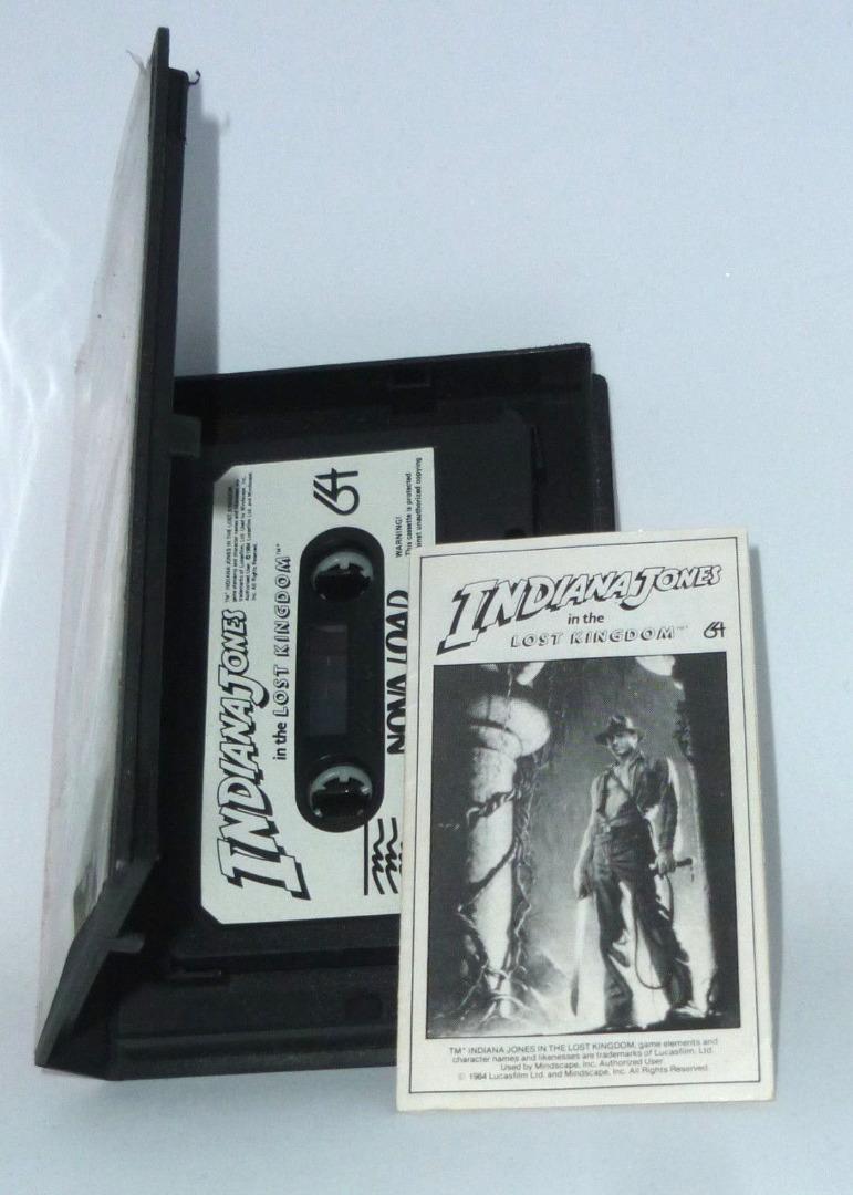 Indiana Johnes in the lost kingdom - C64 / Commodore 64 - 3