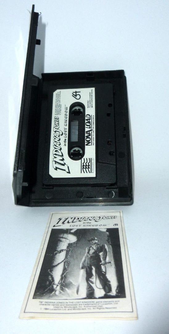 Indiana Johnes in the lost kingdom - C64 / Commodore 64 - 5