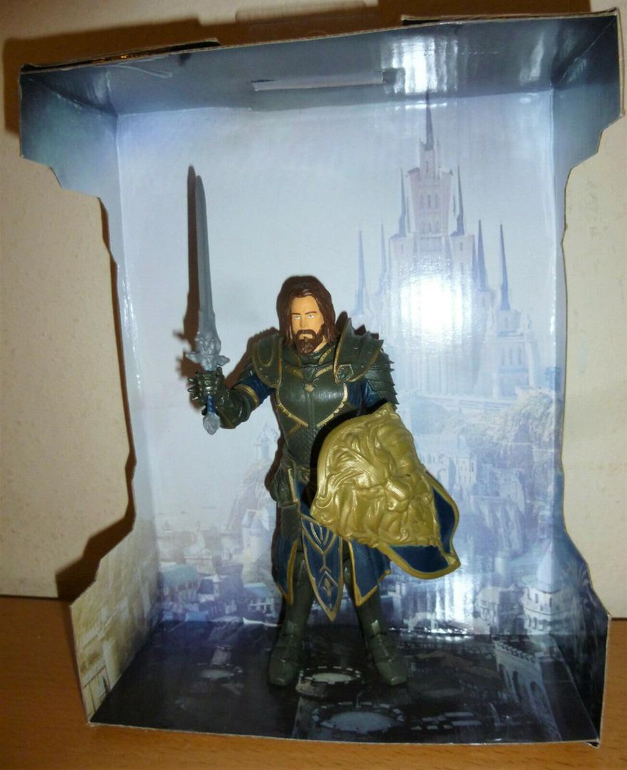 Warcraft - Lothar - Actionfigur 3