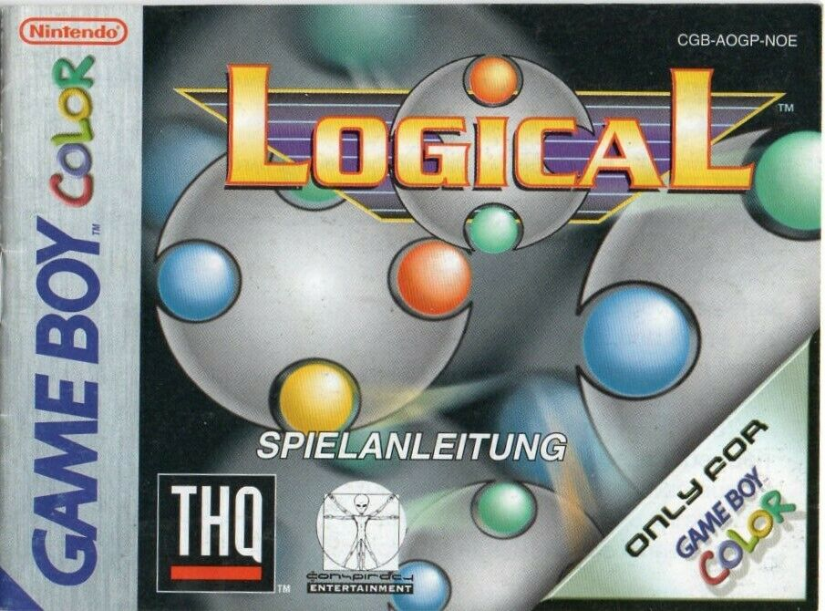 Nintendo Game Boy Color Logical Anweisung - 1