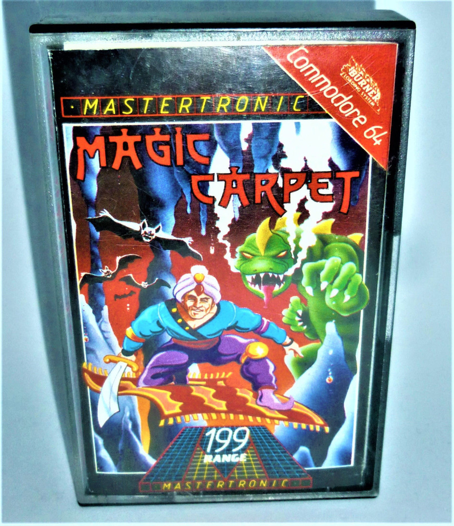C64 - Magic Carpet - Kassette / Datasette - 1