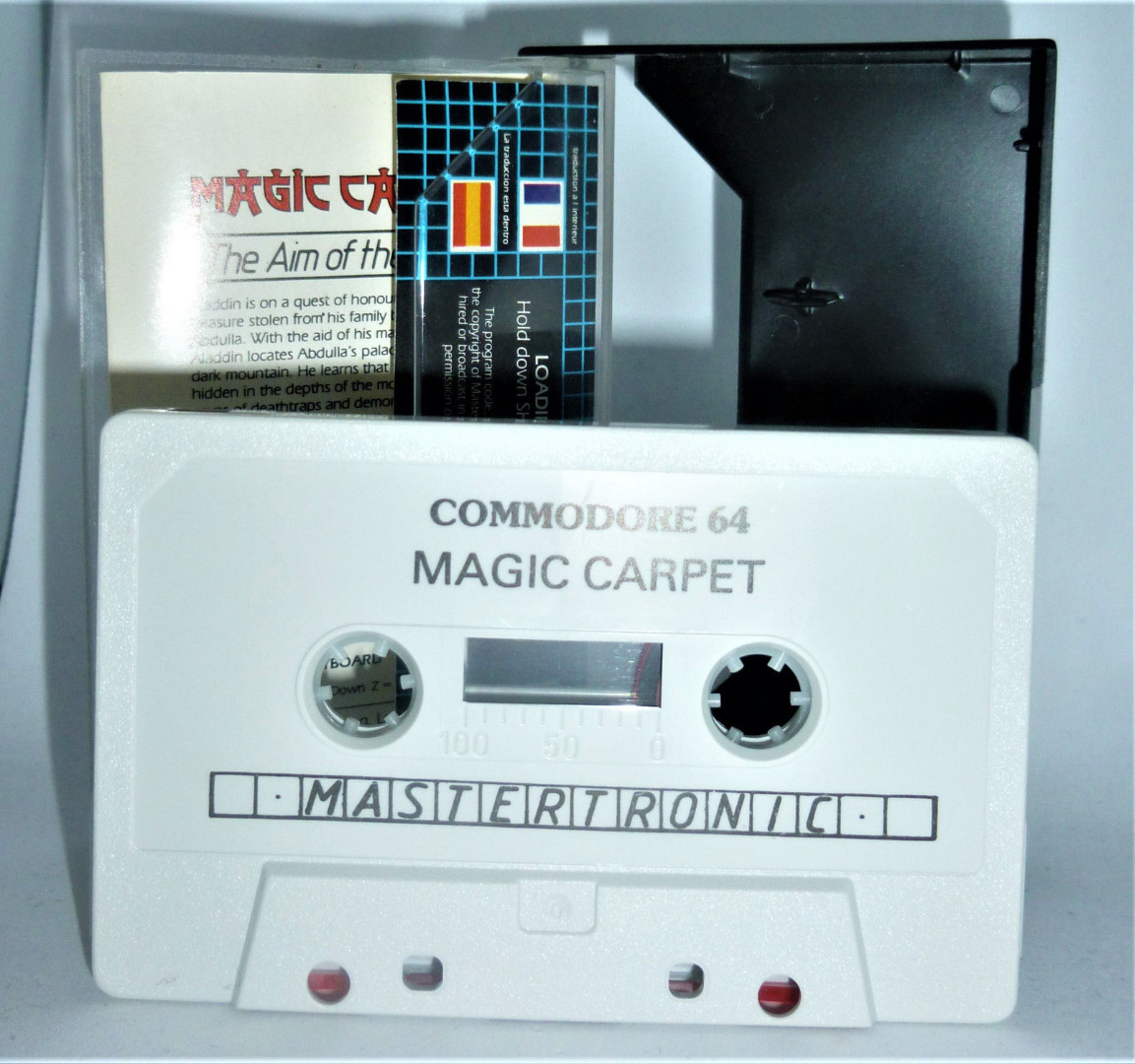C64 - Magic Carpet - Kassette