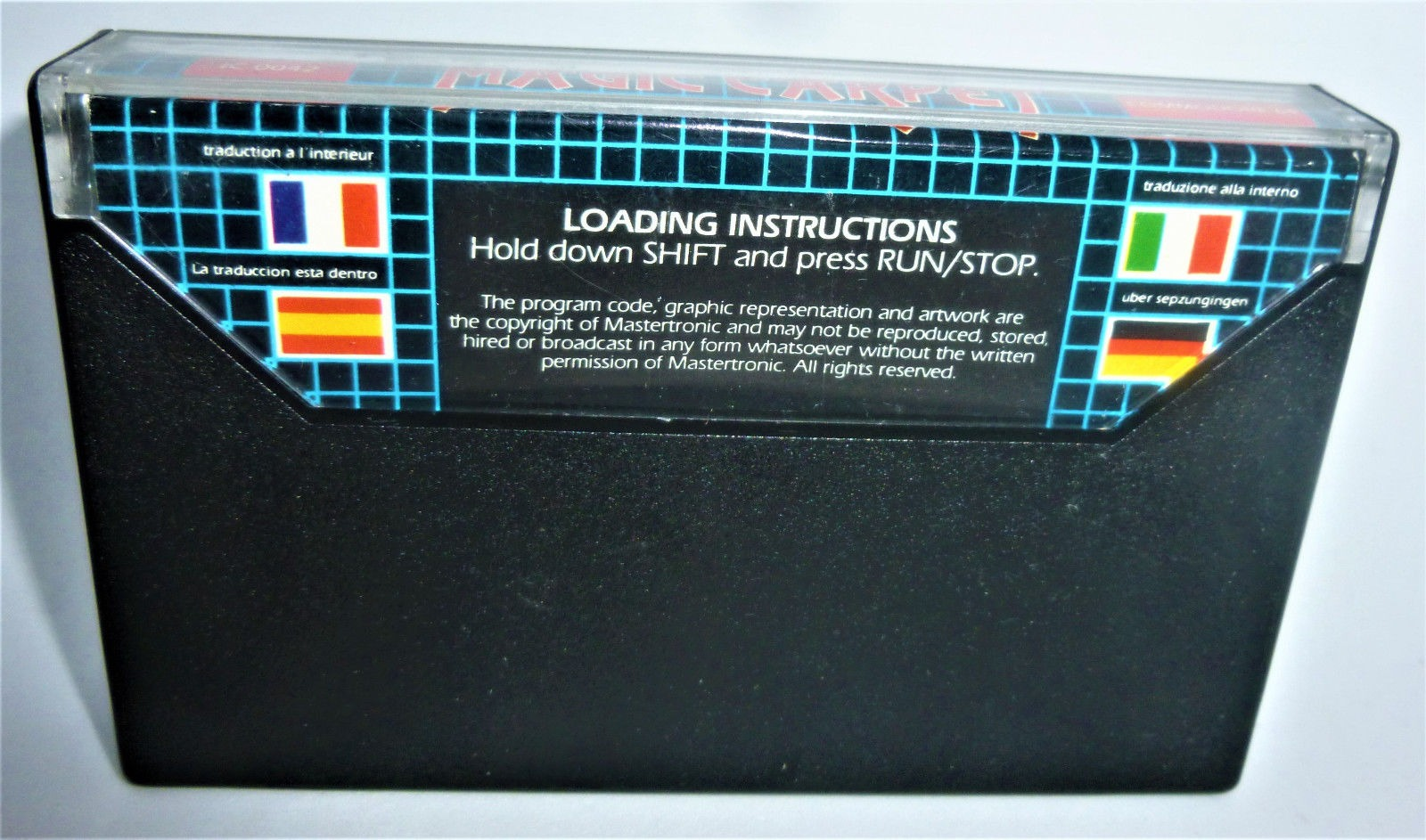 C64 - Magic Carpet - Kassette / Datasette - 3