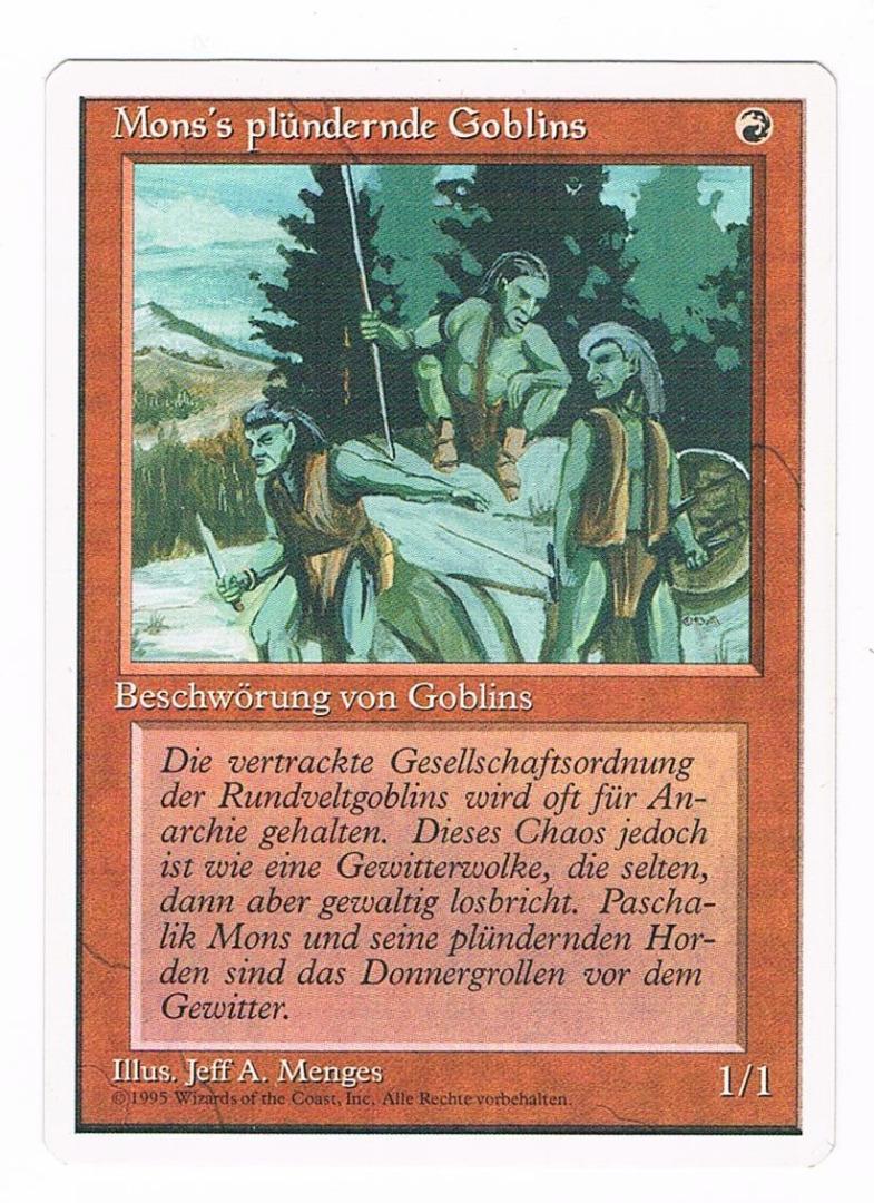 Mons plündernde Goblins