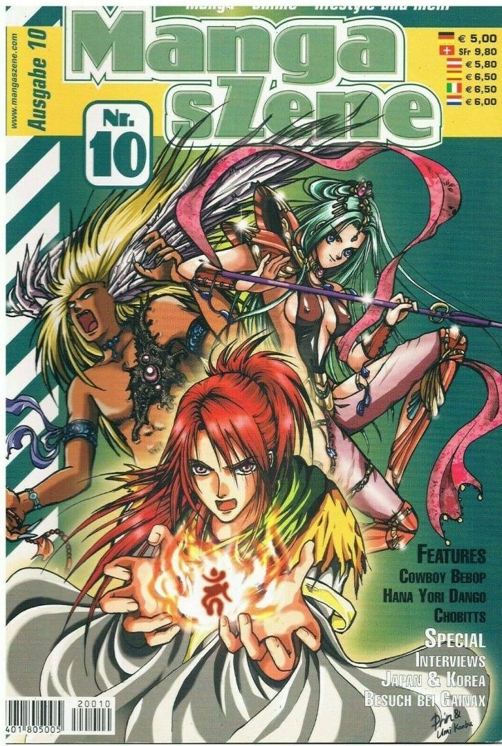 Manga sZene Magazin Nr10