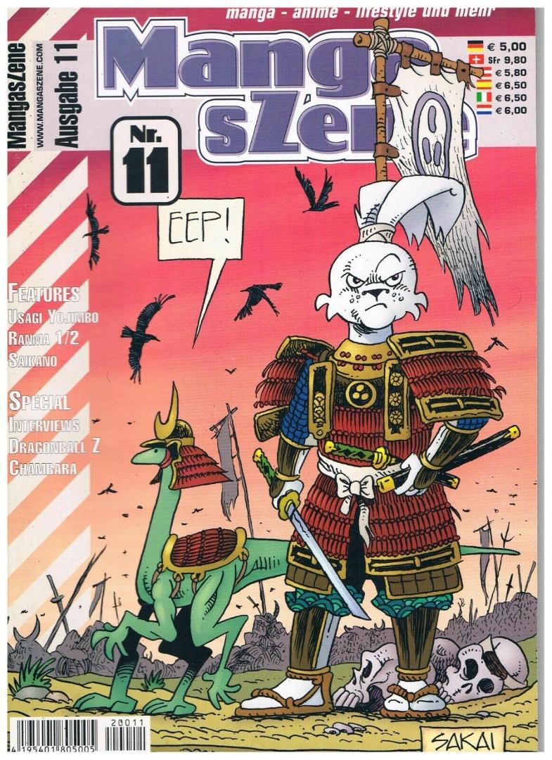 Manga sZene Magazin Nr11