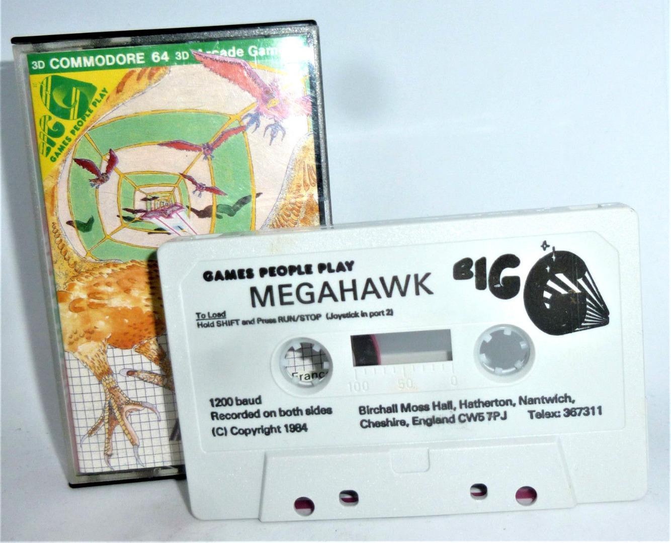 C64 - Mega Hawk - Kassette