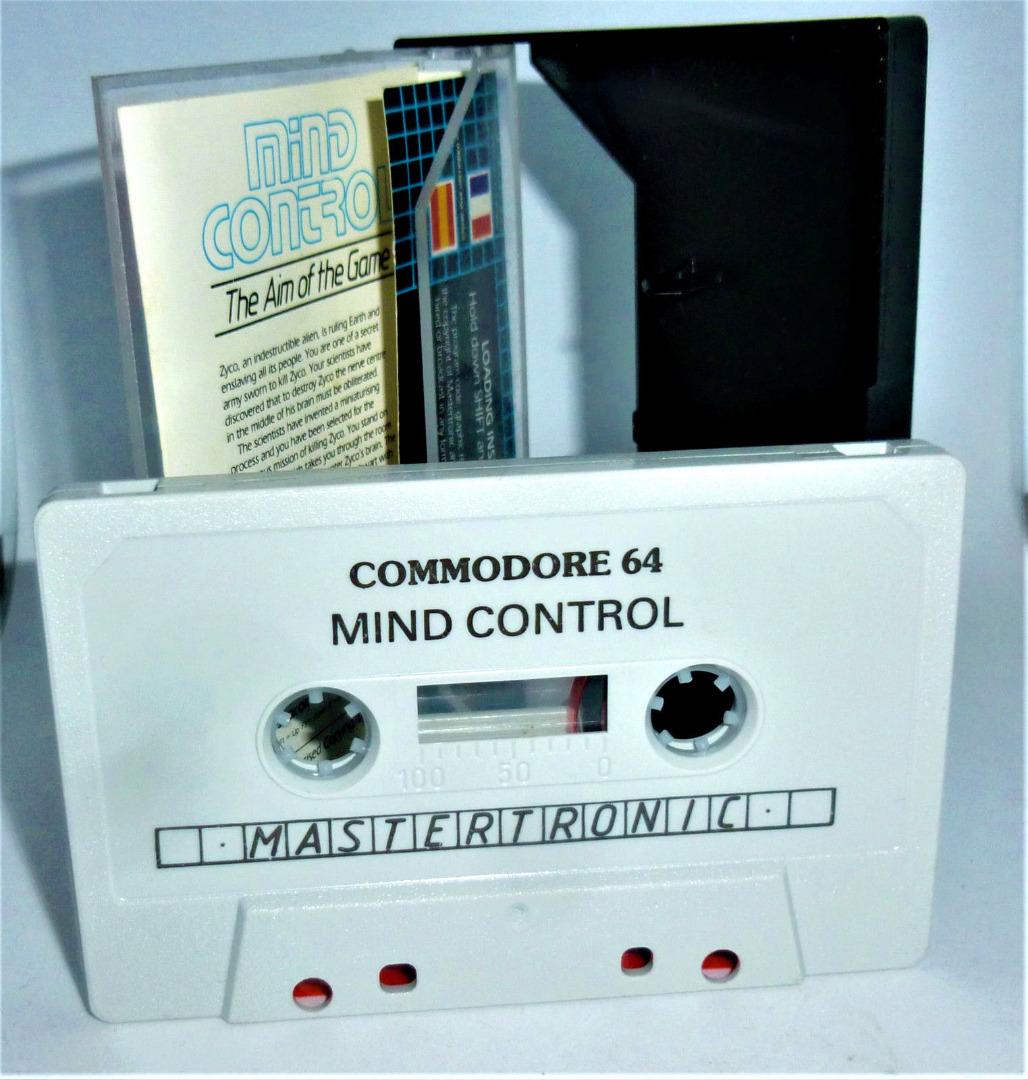 C64 - Mind Control - Kassette / Datasette - 2