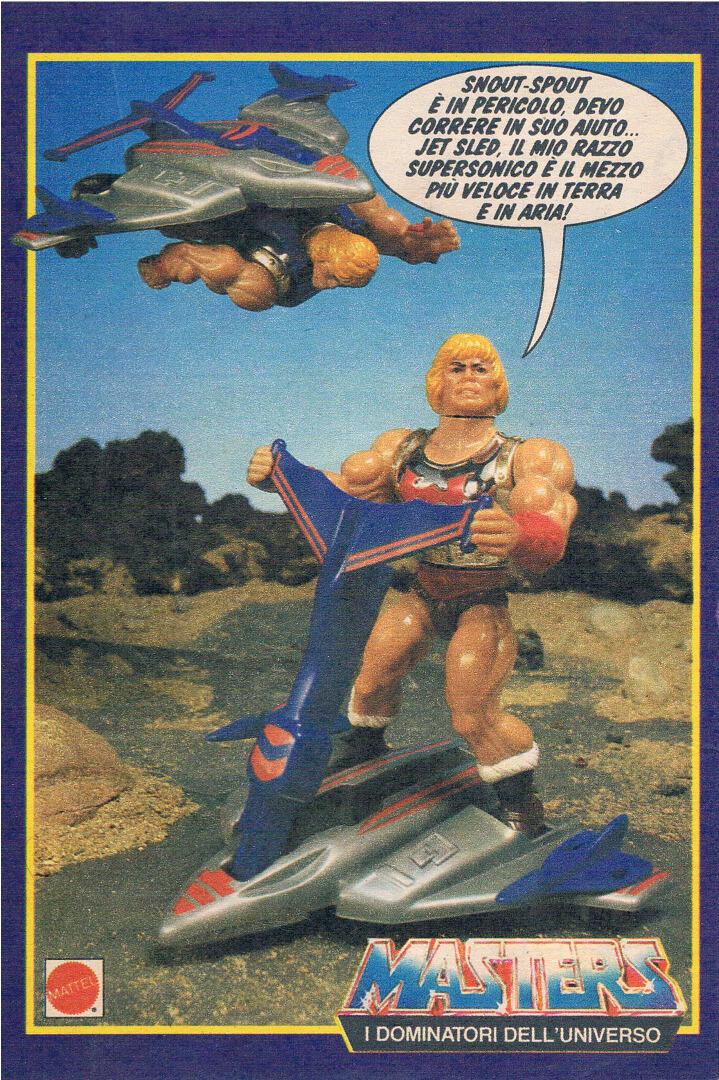 Masters of the Universe Flying Fists