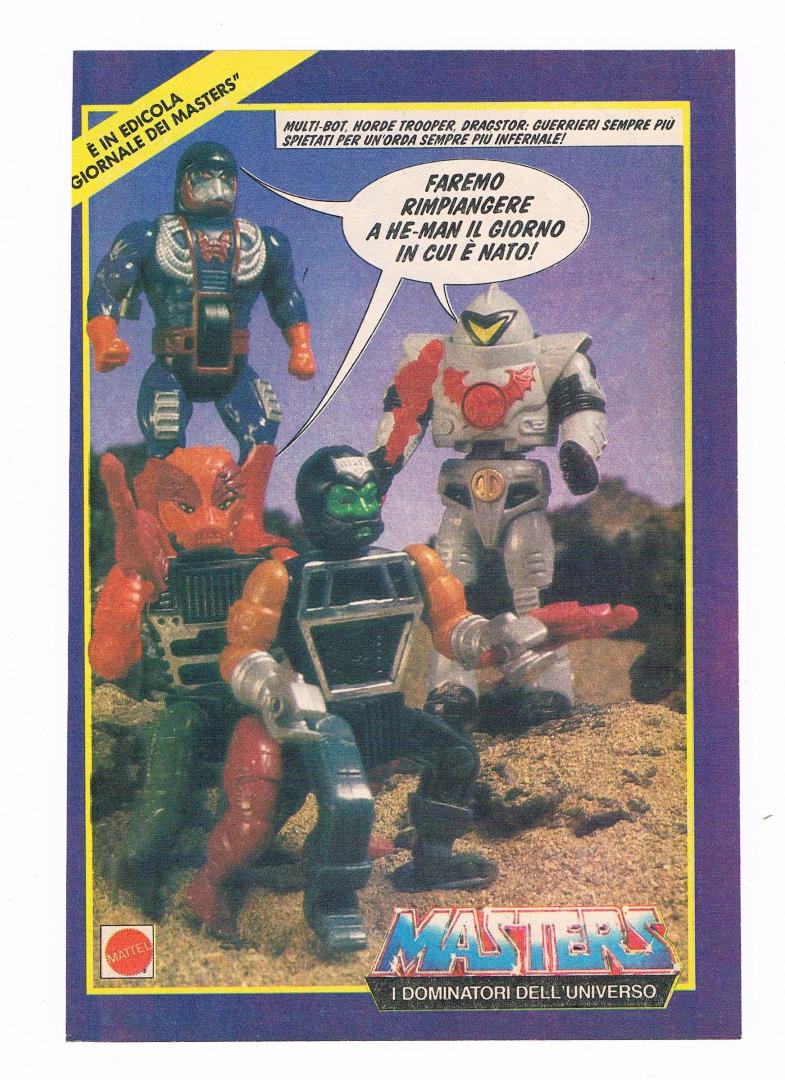 Dragstor Multi-Bot und Horde Trooper Werbeseite