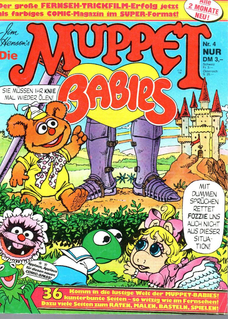 Die Muppet Babys - Comic Nr4