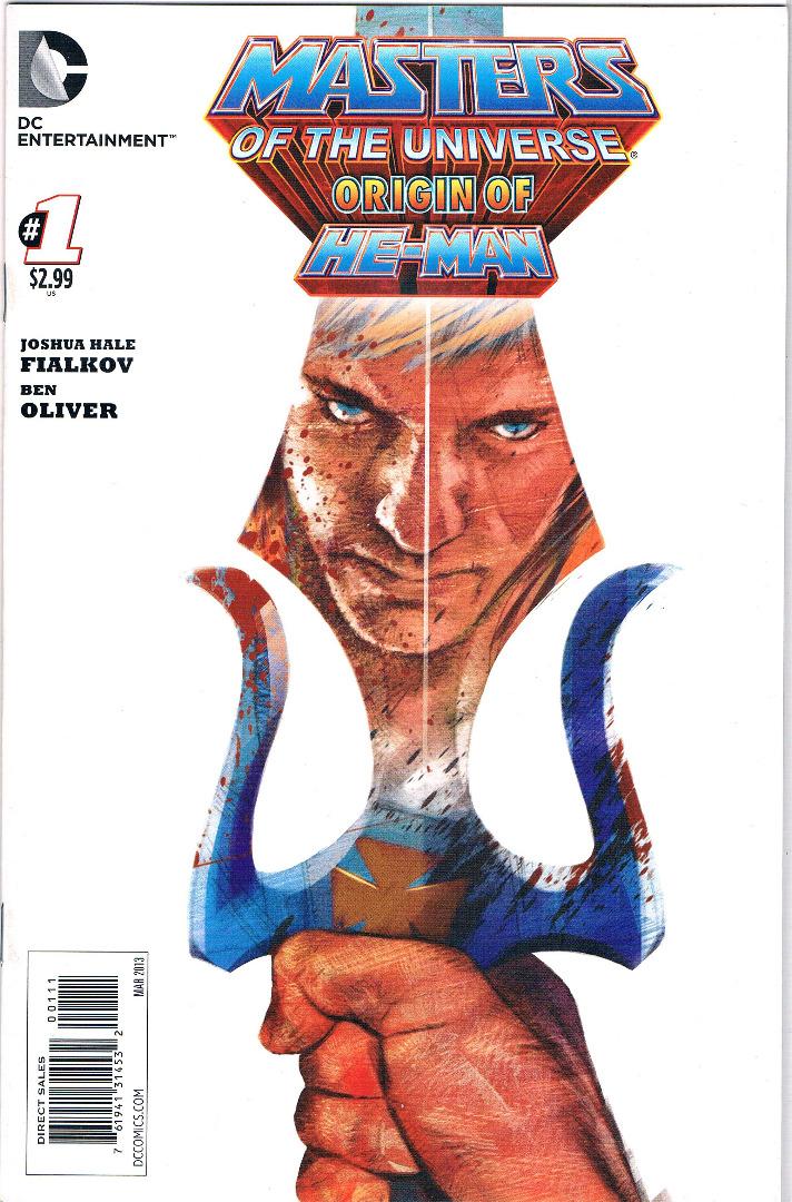 Comic - The origin of He-Man
