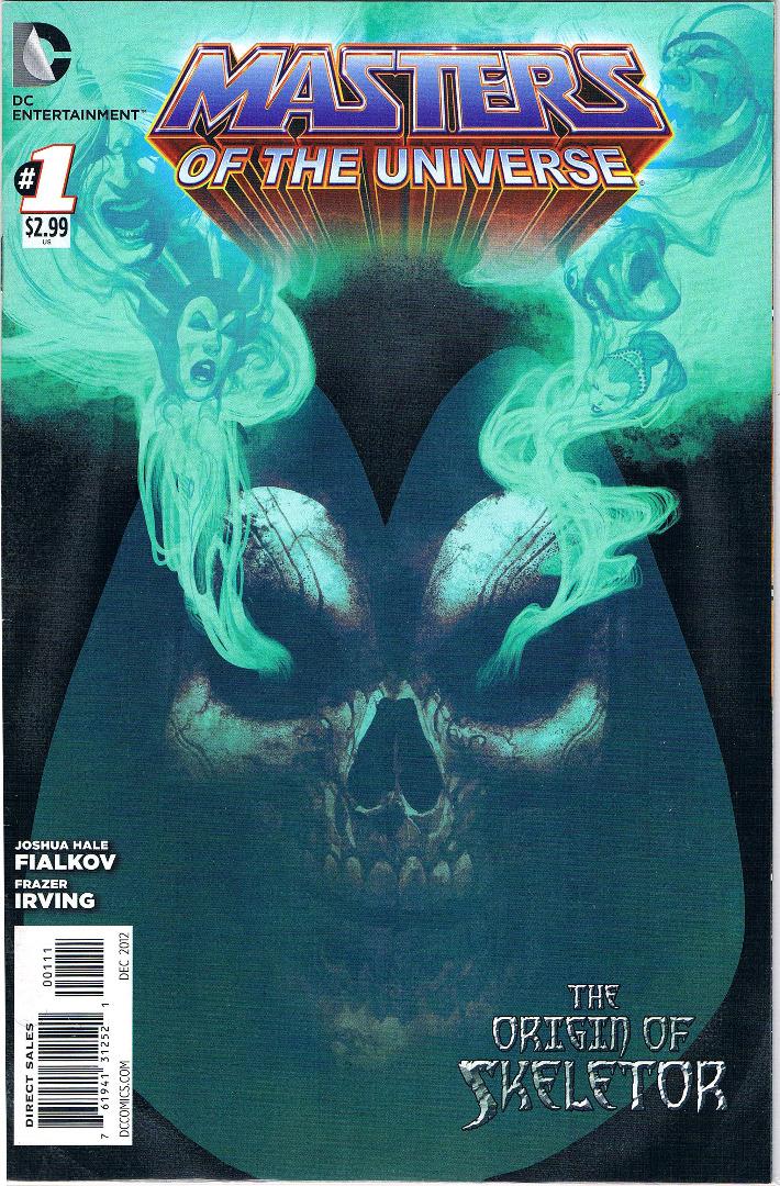 Comic - The origin of Skeletor
