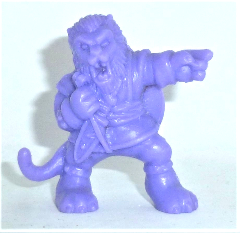 Monster in my Pocket - The Beast - Figur lila - 1