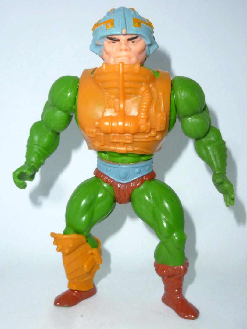 Man-At-Arms - Mattel Inc 1981 - TAIWAN - Masters of the Universe / He-Man - 1