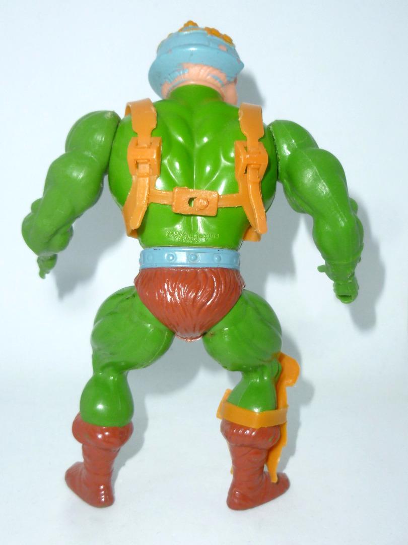 Man-At-Arms - Mattel Inc 1981 - TAIWAN - Masters of the Universe / He-Man - 5