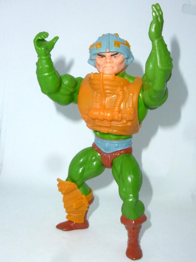 Man-At-Arms - Mattel Inc 1981 - TAIWAN - Masters of the Universe / He-Man - 3