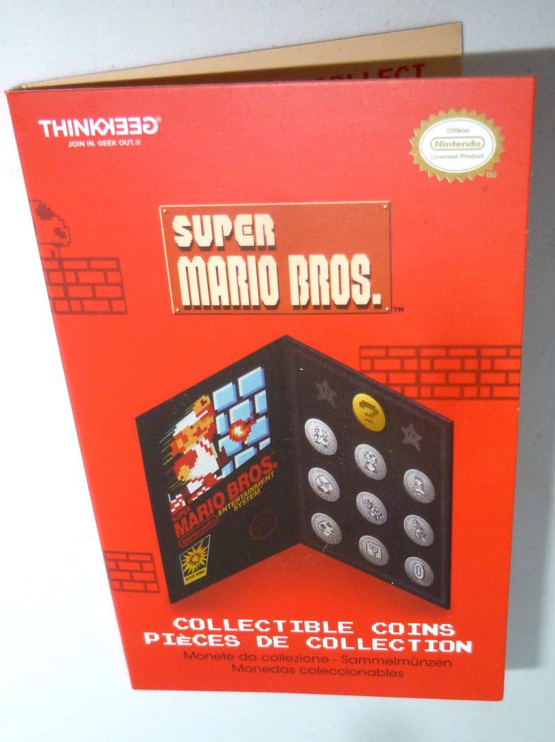 Super Mario Bros Münze Coin zum