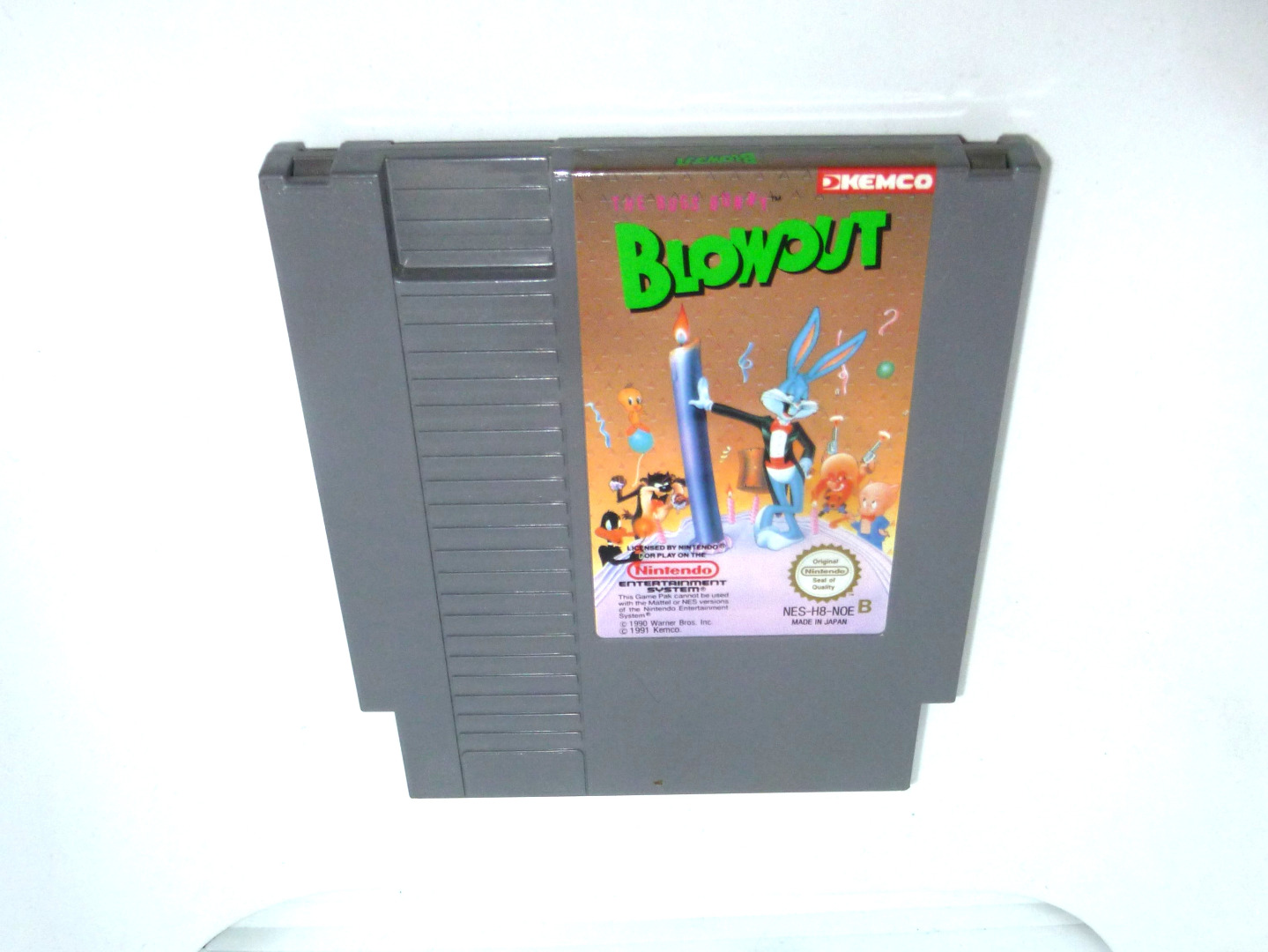 Nintendo NES The Bugs Bunny Blowout