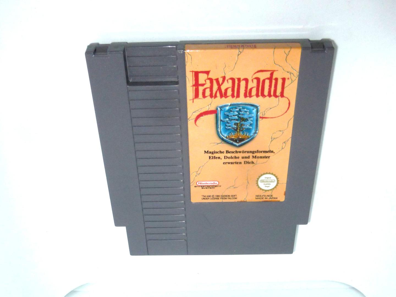 Nintendo NES - Faxanadu - Pal-B
