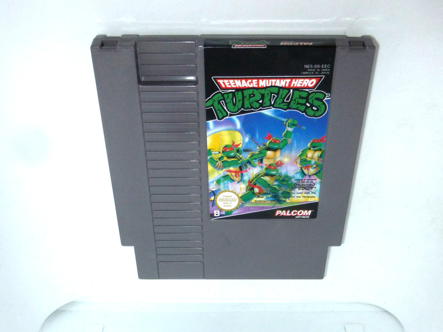 Nintendo NES Teenage Mutant Hero Turtles-