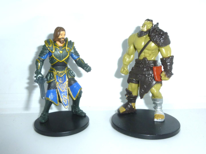 Warcraft - 2 Mini Figuren