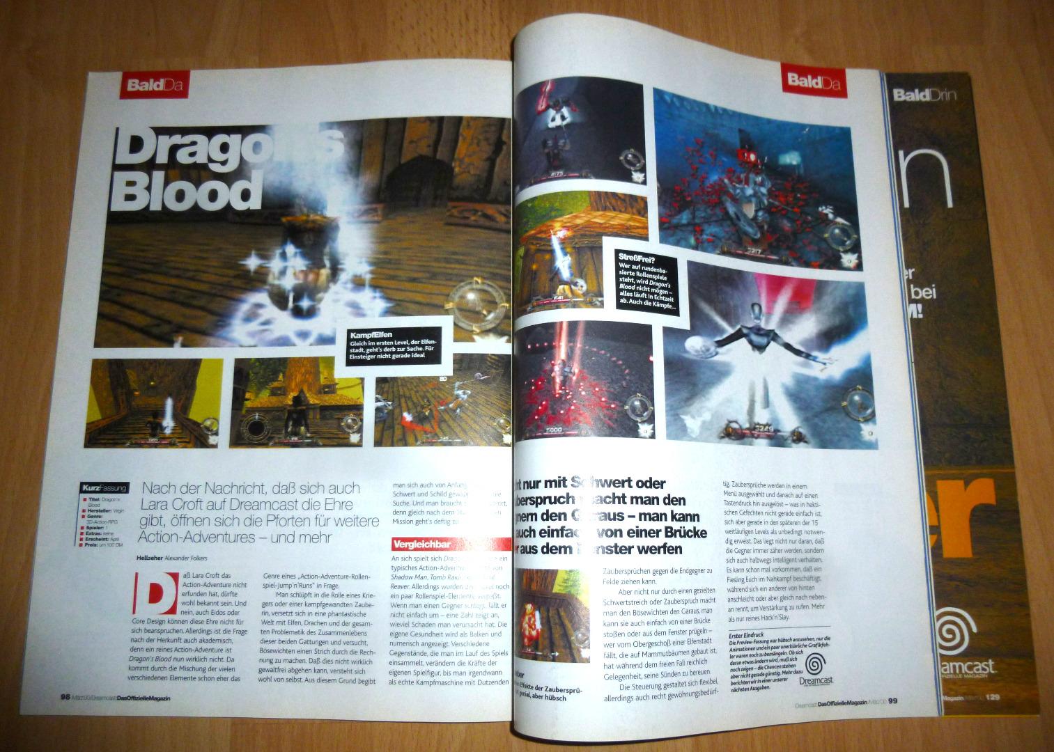 Dreamcast Das offizielle Magazin 4/2000 Sega