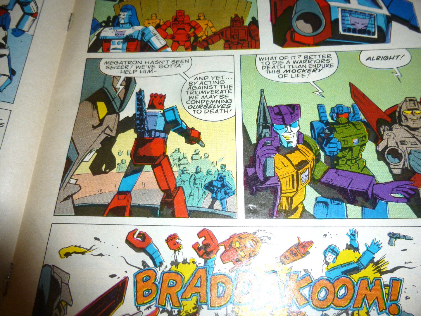 The Transformers Comic Generation G1 Hasbro