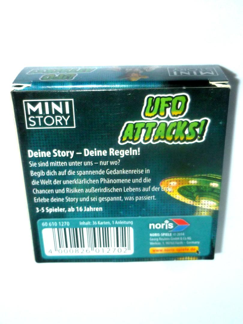 Mini Story - UFO Attacks -