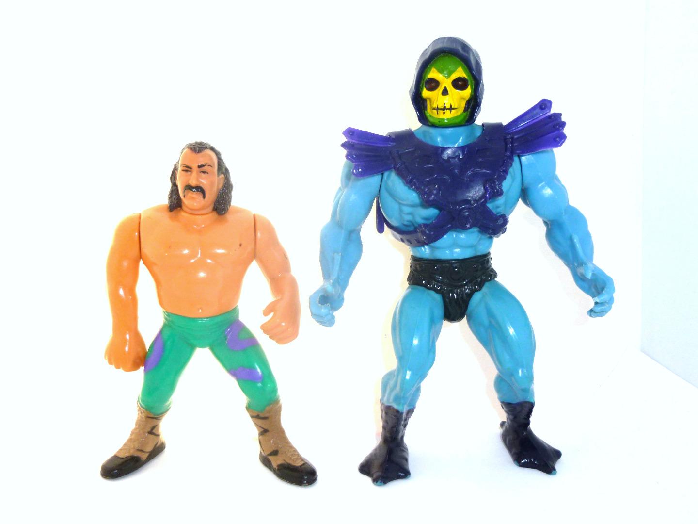 Jake The Snake Roberts vs Skeletor