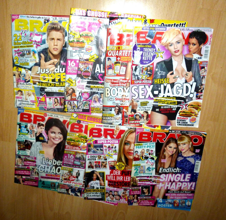 8 Hefte von 2013