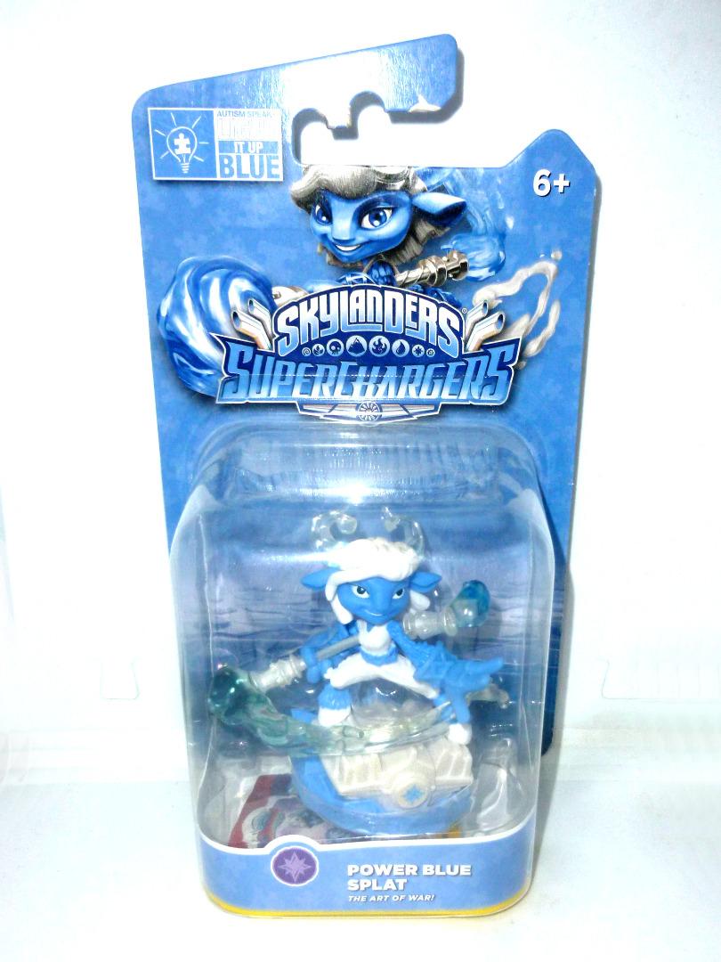 Power Blue - Splat - OVP