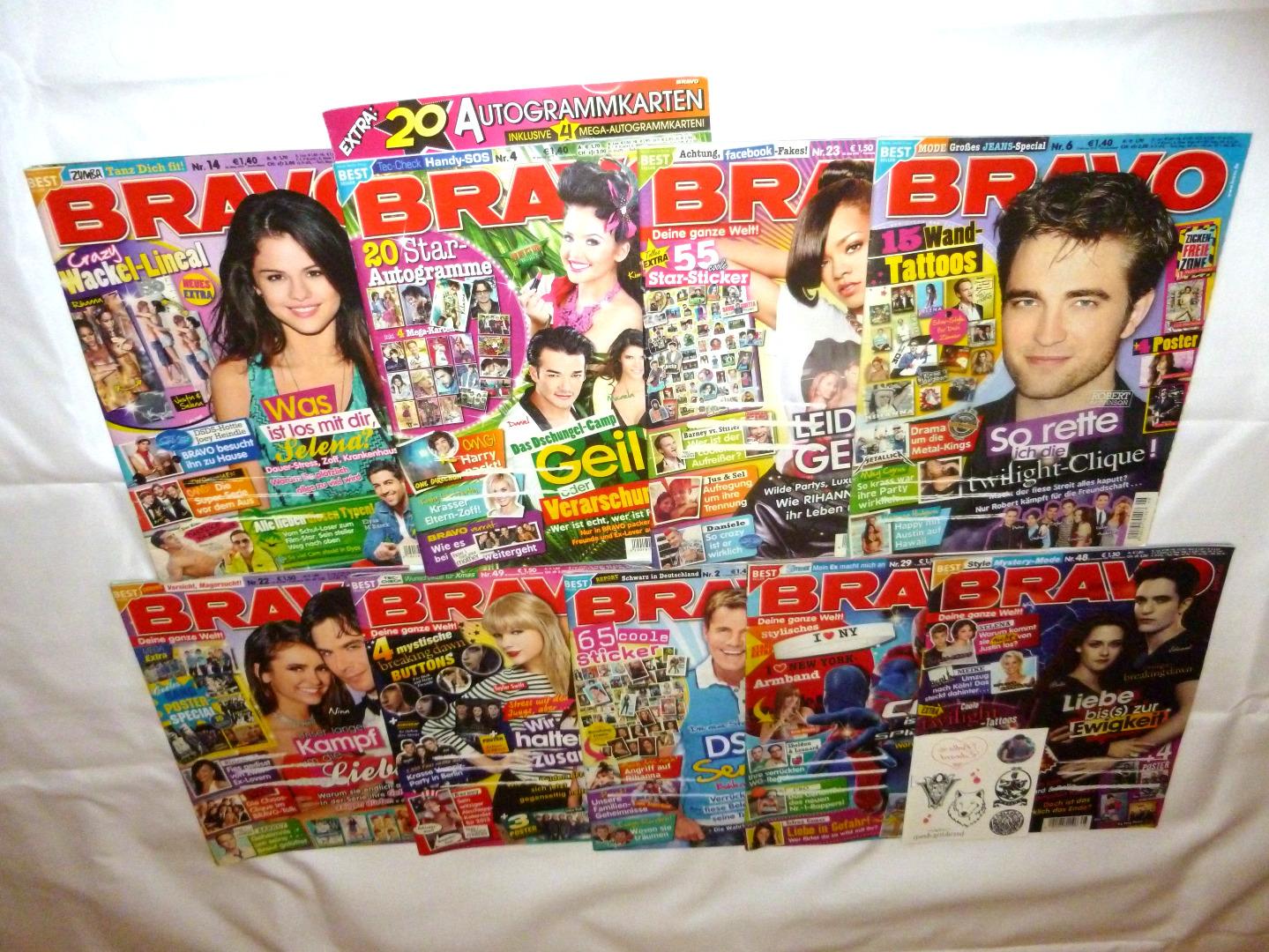 Hefte / Magazine von 2012