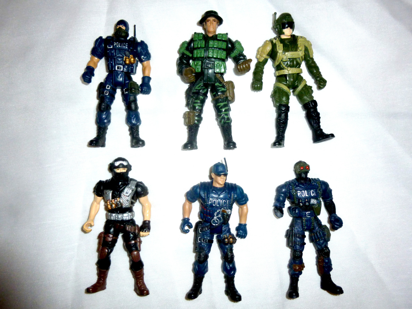 Police Force Actionfiguren