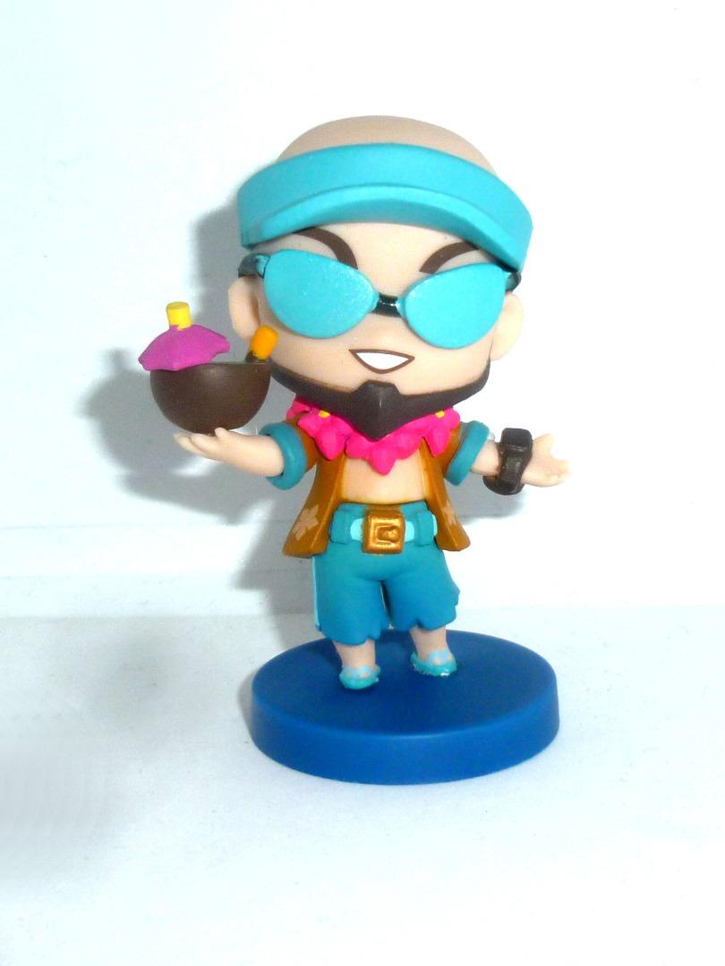 Lee Sin Team-Minis Poolparty Figur
