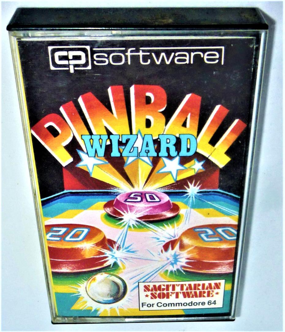 C64 - Pinball Wizard - Kassette / Datasette - 1