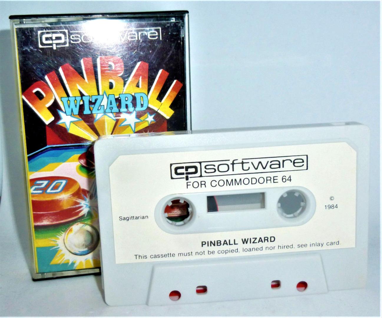C64 - Pinball Wizard - Kassette
