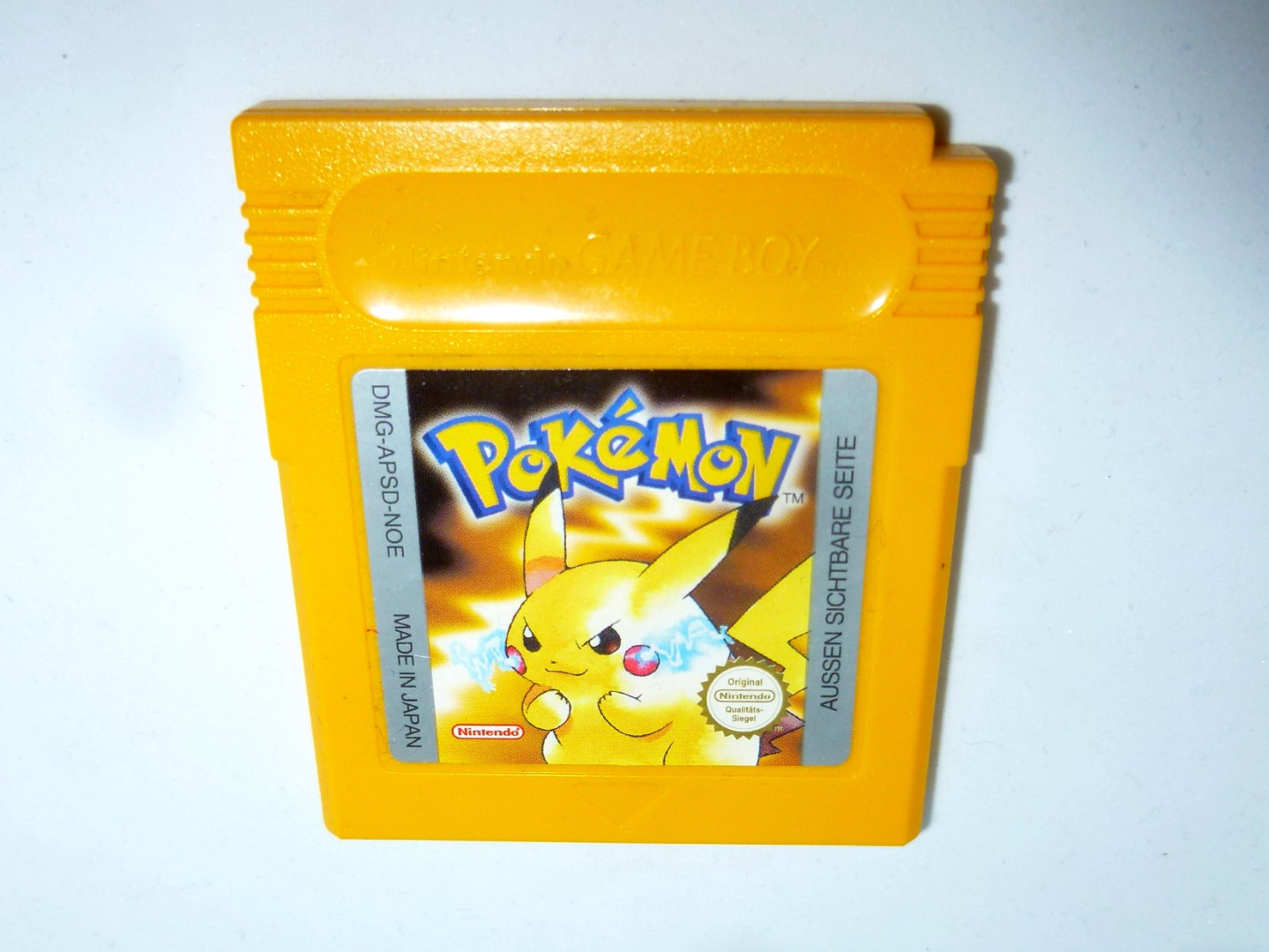 Nintendo Game Boy - Pokemon gelb