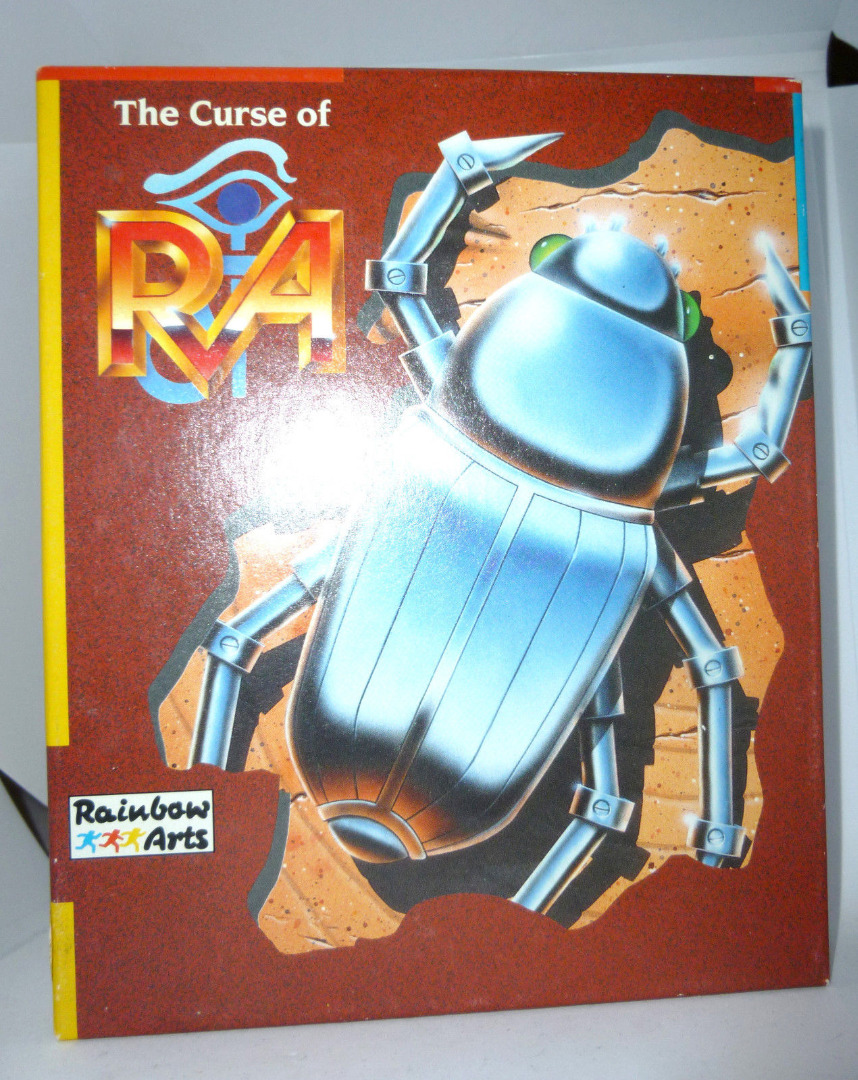 C64 The Curse of Ra Kassette