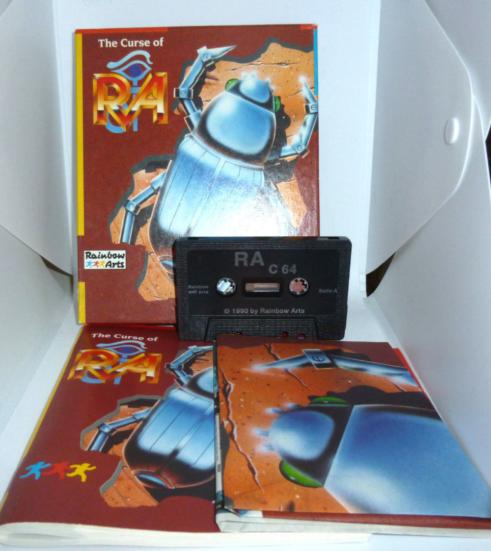 C64 The Curse of Ra Kassette - 2