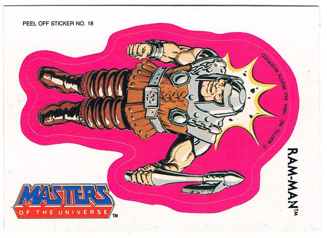 Ram Man Sticker von Topps