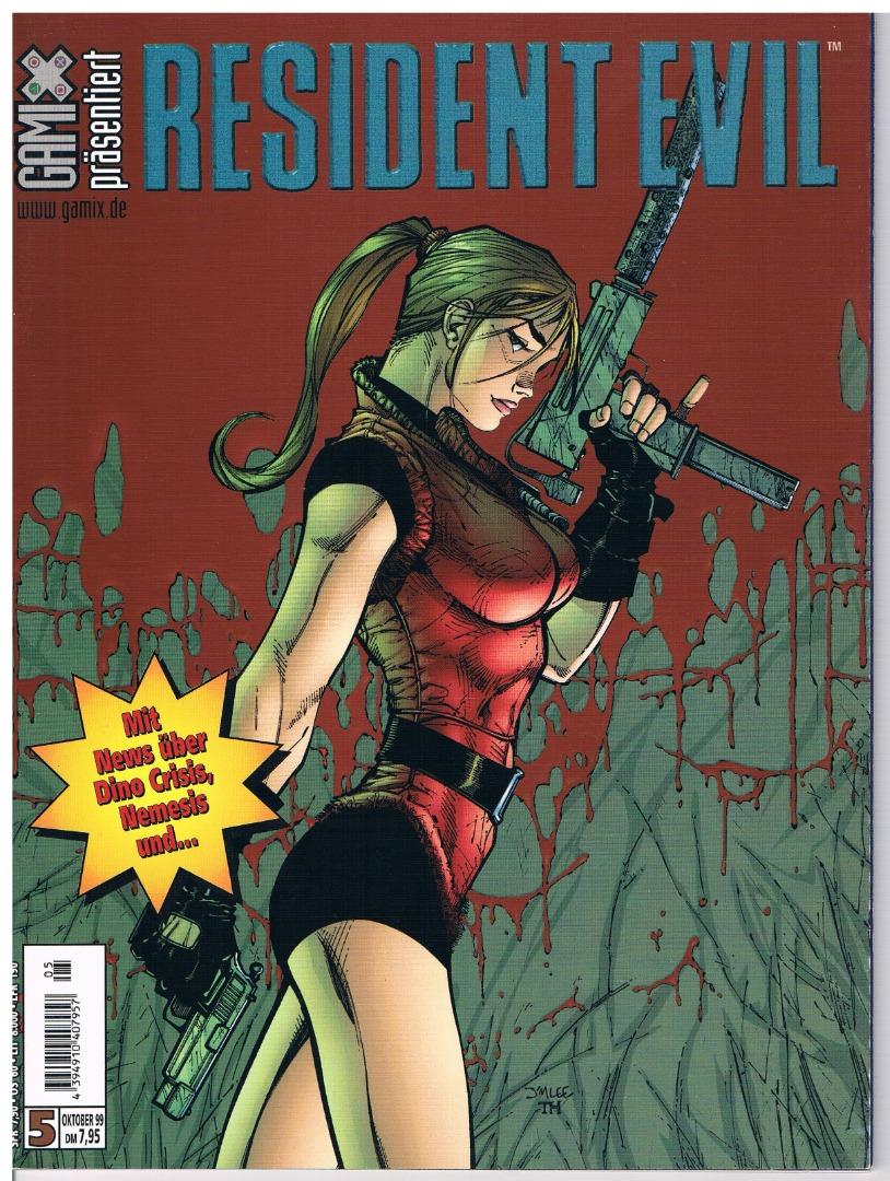 Resident Evil Comic Nr5 - 1999
