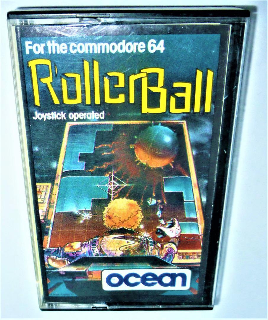C64 - Roller Ball - Kassette / Datasette - 1