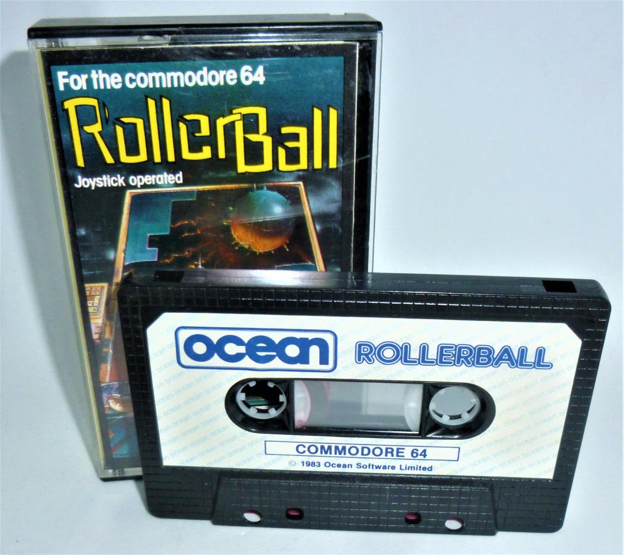 C64 - Roller Ball - Kassette / Datasette - 2