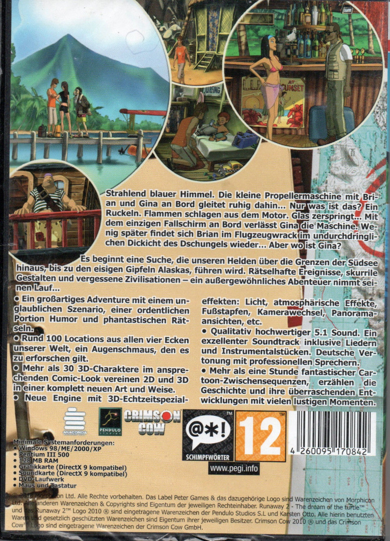 PC-Spiel DVD-ROM Runaway 2: The Dream